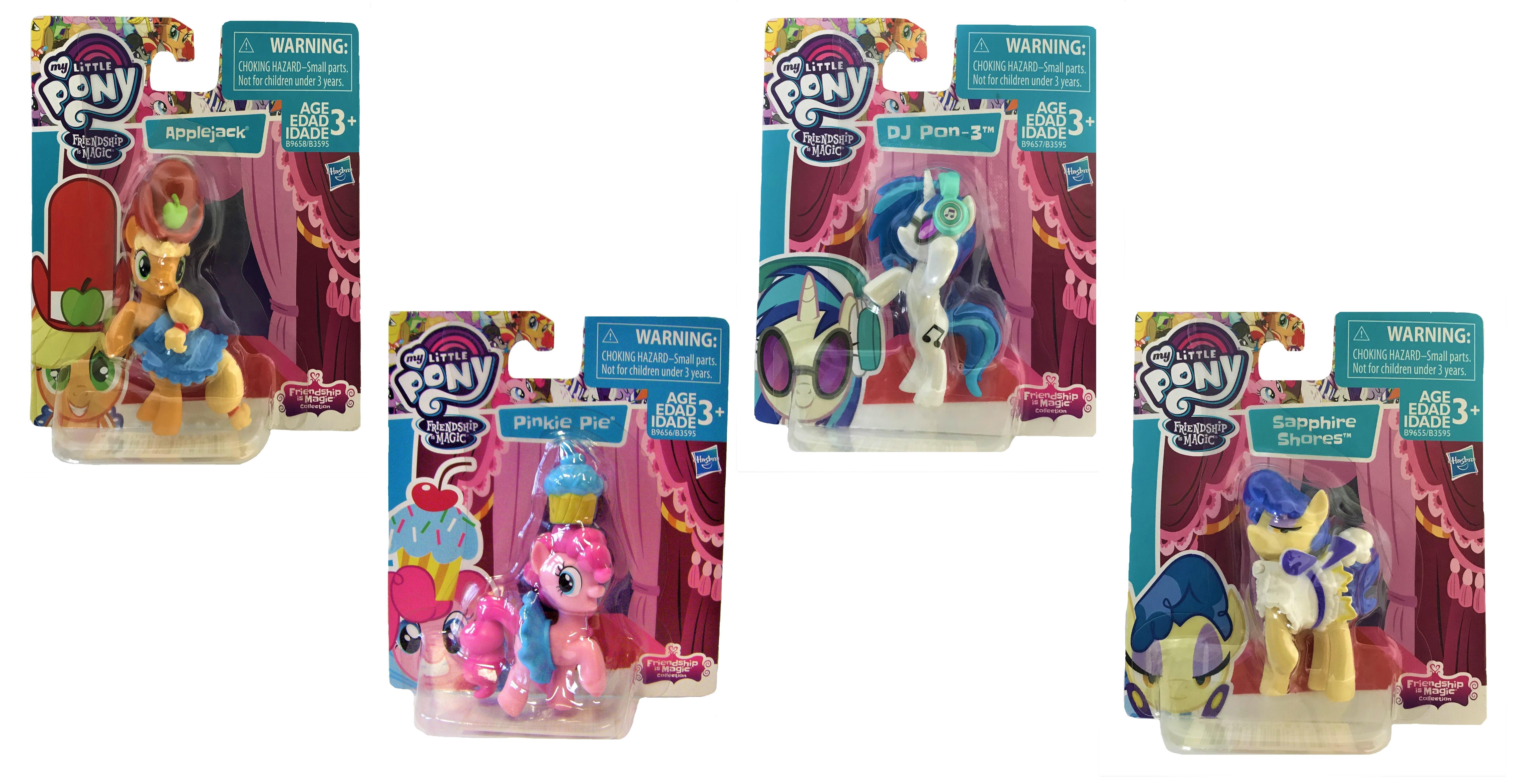 Hasbro My Little Pony Friendship Magic Sammelfiguren 8 cm (Auswahl)