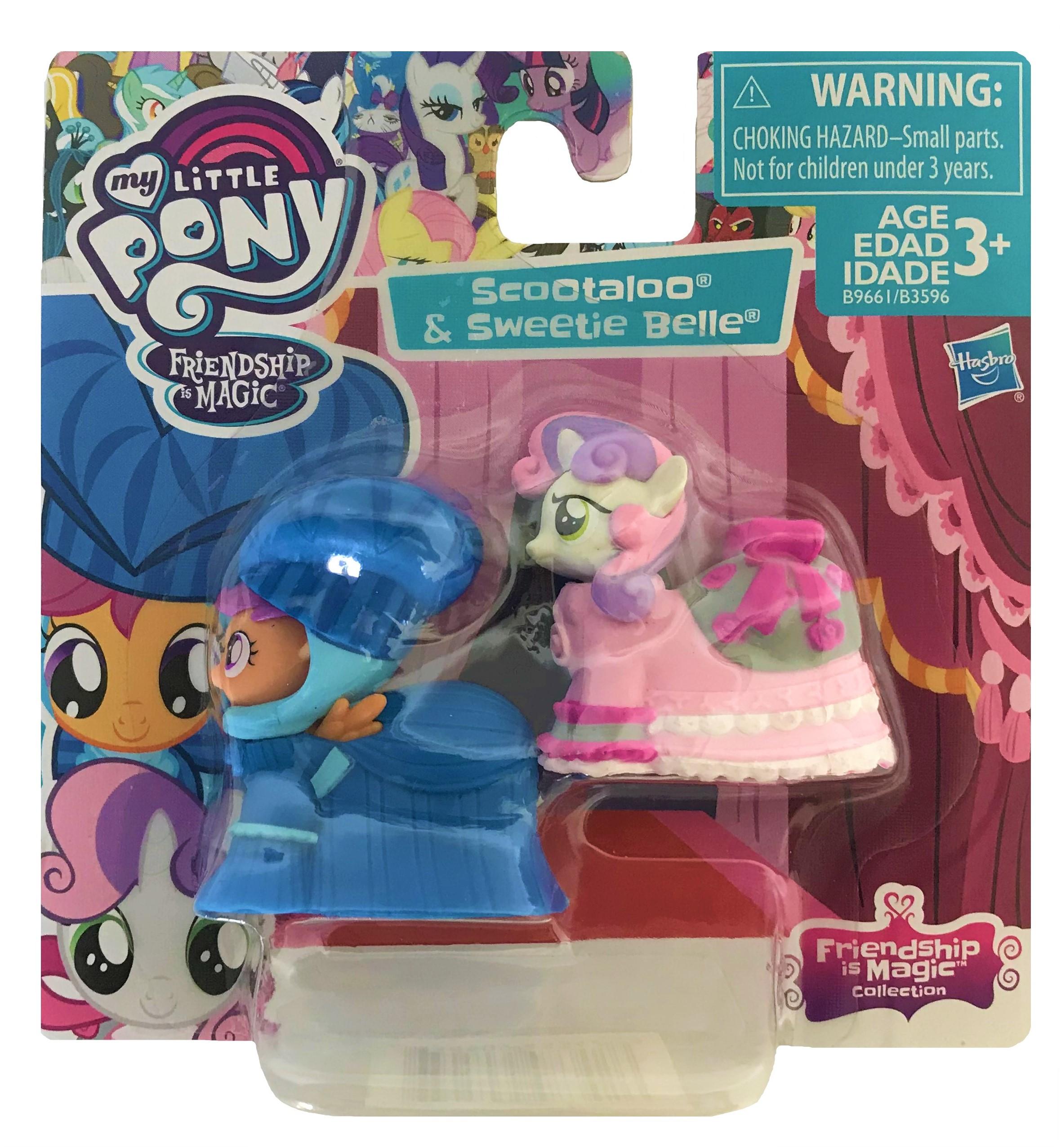 Hasbro My Little Pony Friendship Magic B9661 Scootaloo - Sweetie Belle