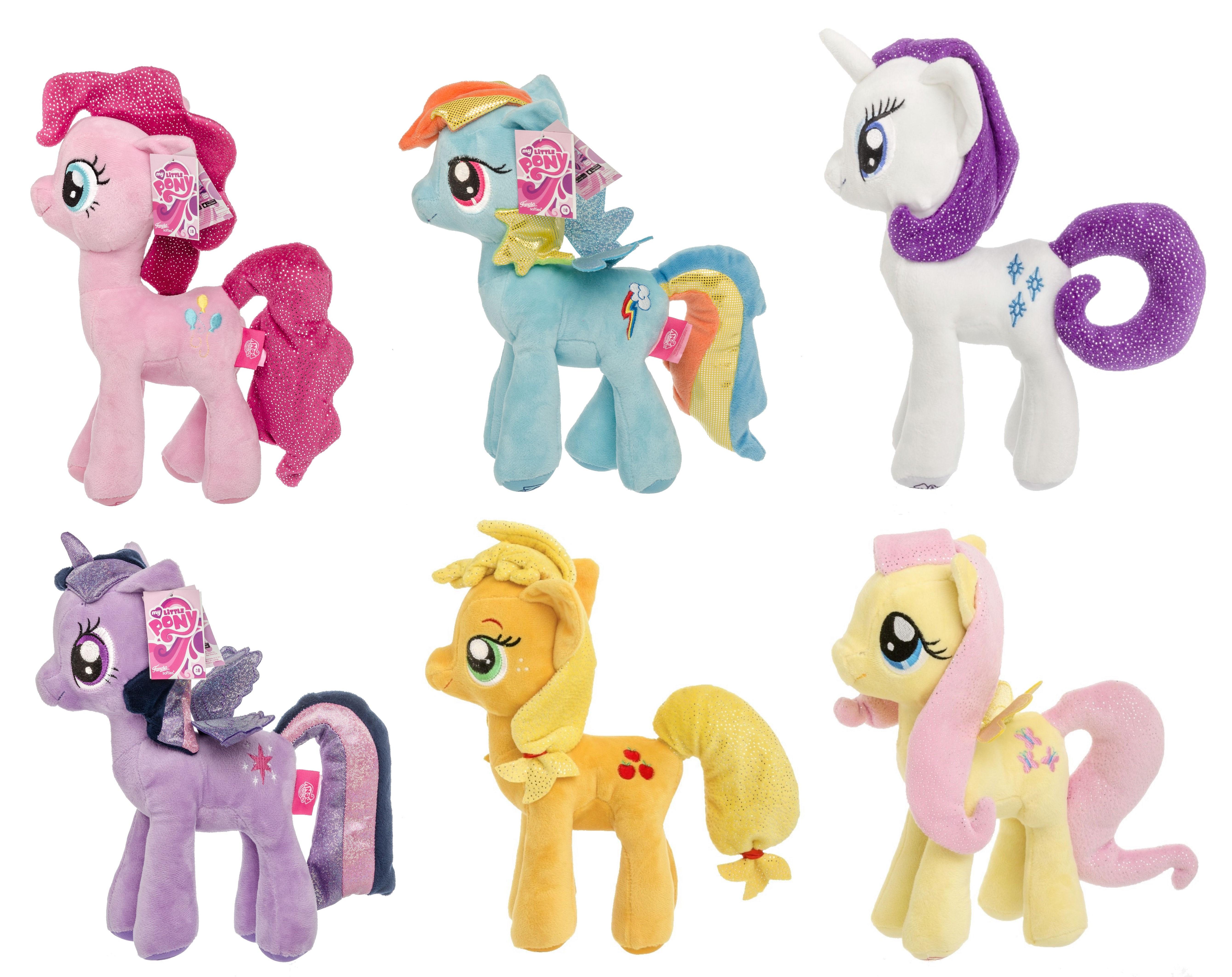 My Little Pony Plüschtier Glitzer 27 cm (Auswahl)