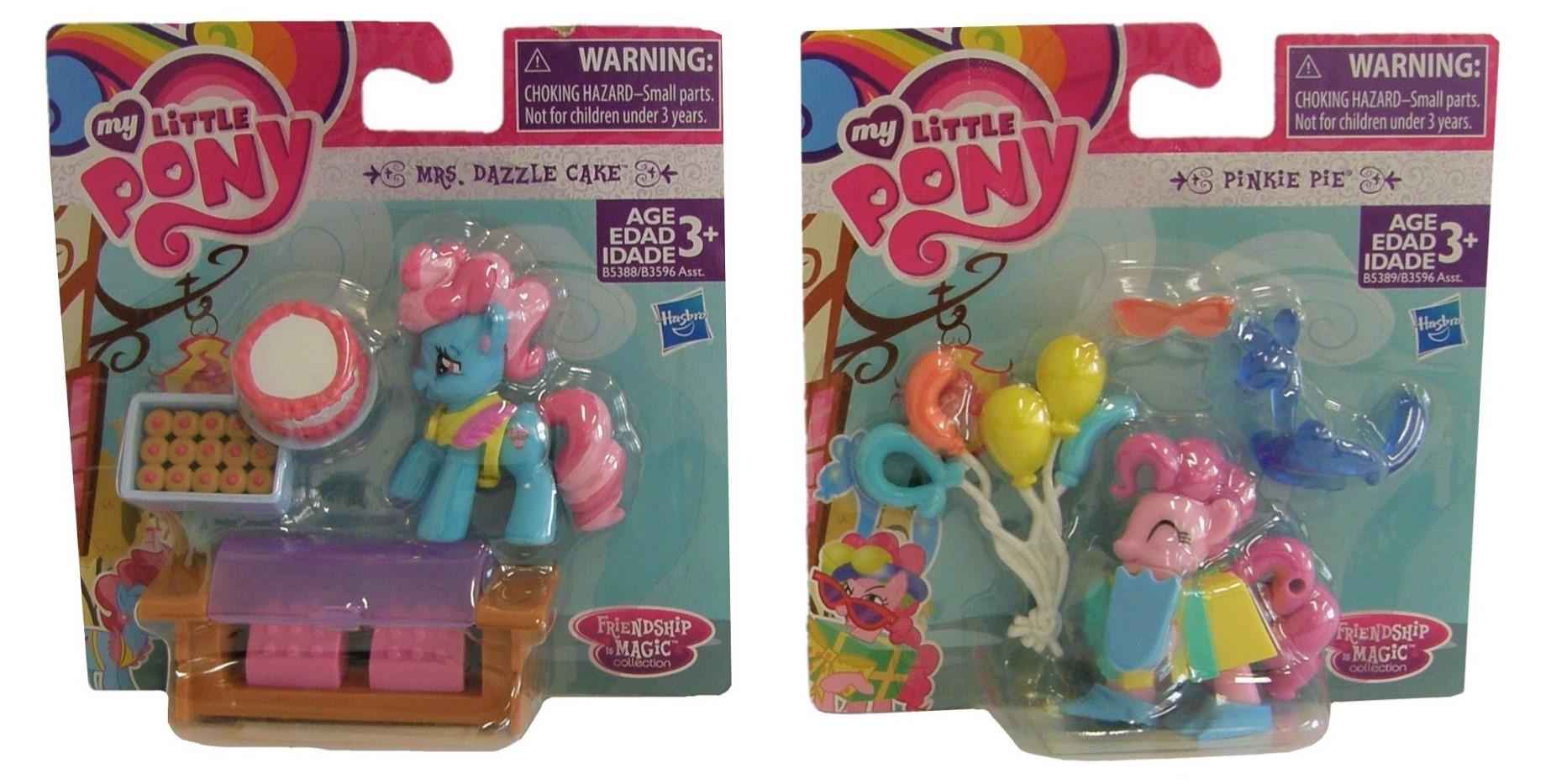 Hasbro My Little Pony B3596 Friendship is Magic 4er Set Sammel-Spielfiguren 9 cm