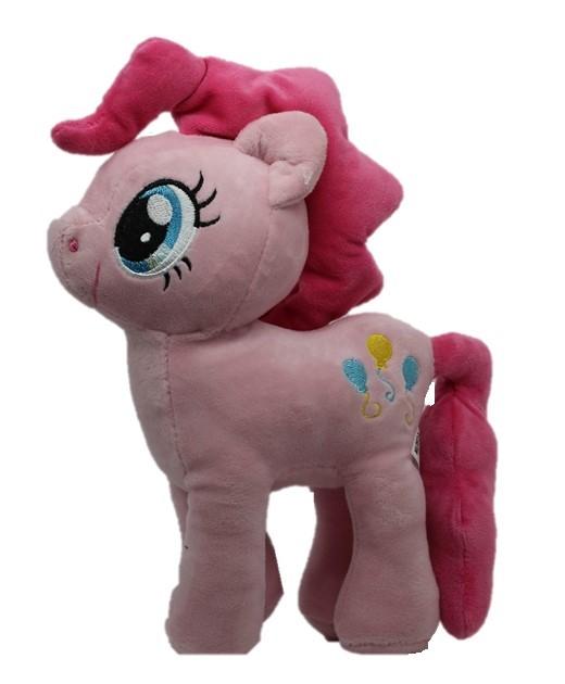 My Little Pony Pinkie Pie, kuschelweiches Plüschspielzeug in Pink, Plüschfigur