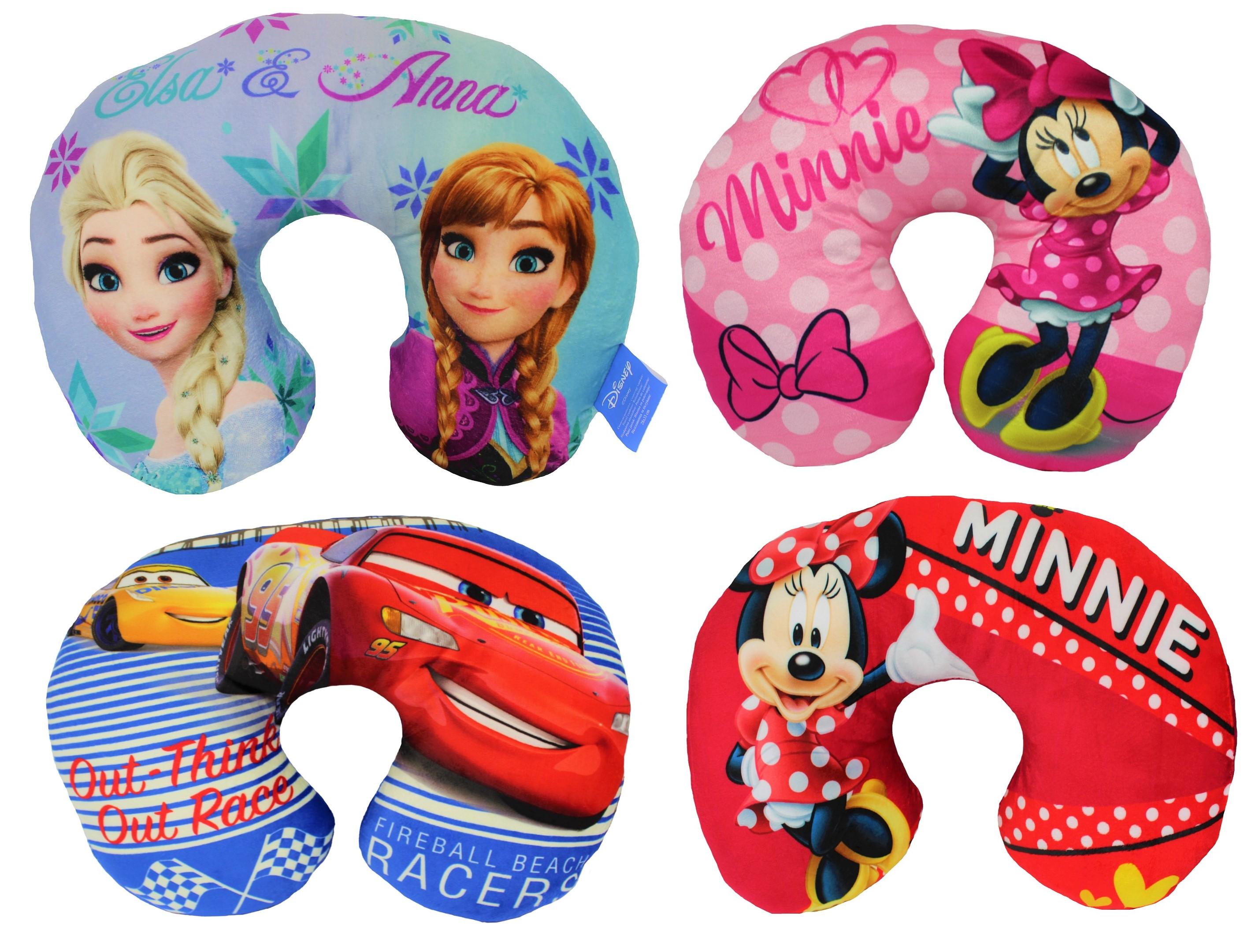 Disney verschiedene Designs Reisekissen Nackenkissen 28 x 33 cm (Auswahl)