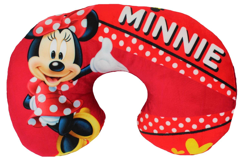 Disney Minnie Mouse Nackenkissen Reisekissen rot 28 x 33 cm
