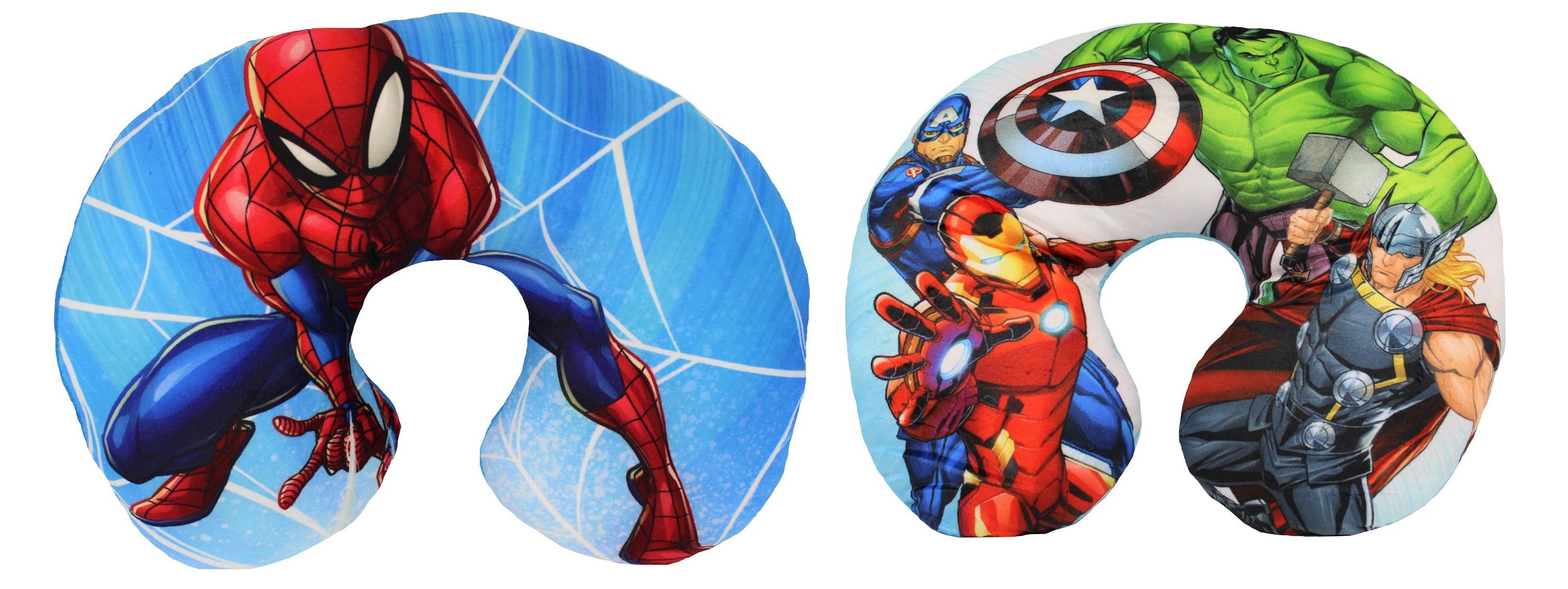 Marvel verschiedene Designs Reisekissen Nackenkissen 28 x 33 cm (Auswahl)