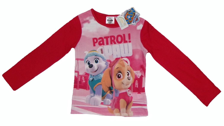 Nickelodeon Paw Patrol Langarm-Shirt Skye pink Größe 116