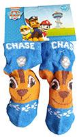 Nickelodeon Paw Patrol Baby Socken mit Hund Chase blau braun Größe 15/17