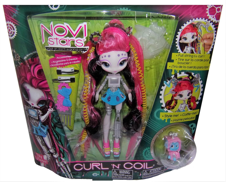 Novi Stars Tyli Vizon Puppe im galaktischen Outfit Curl ´n´ Coil