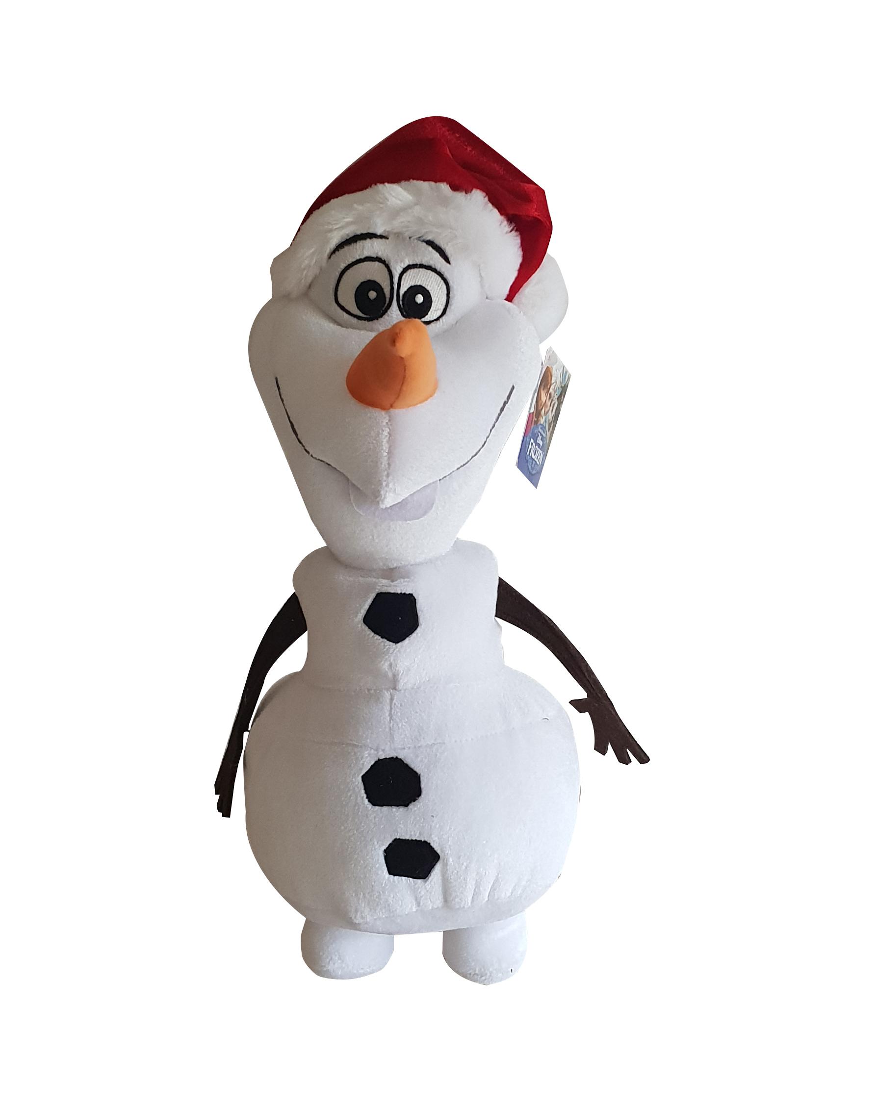 Simba Frozen Olaf Plüschfigur 35cm mit roter Mütze