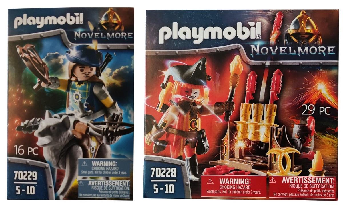 PLAYMOBIL Novelmore Armbrustschütze oder Feuerwehrskanone mit Zubehör (Auswahl)