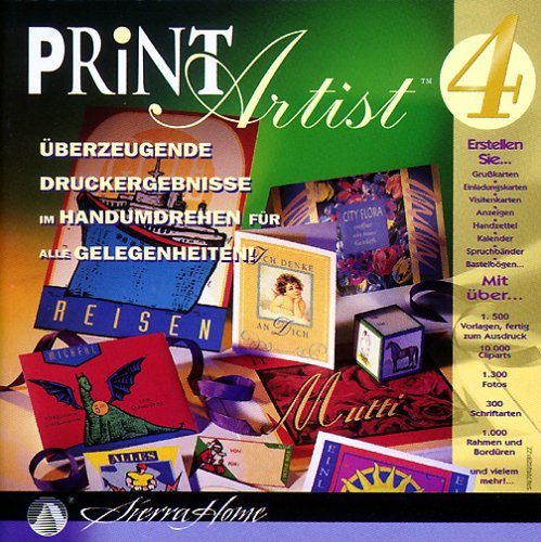 Print Artist 4 PrintArtist PC