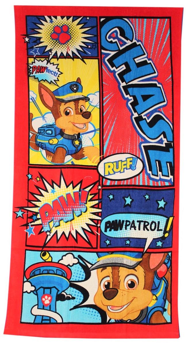 Paw Patrol Chase Comic Strandtuch für Kinder