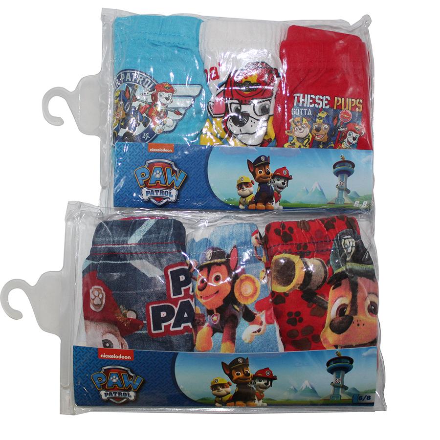 Paw Patrol Kinder Socken Chase Marshall /& Rubble 6er Pack für Jungen Neuware
