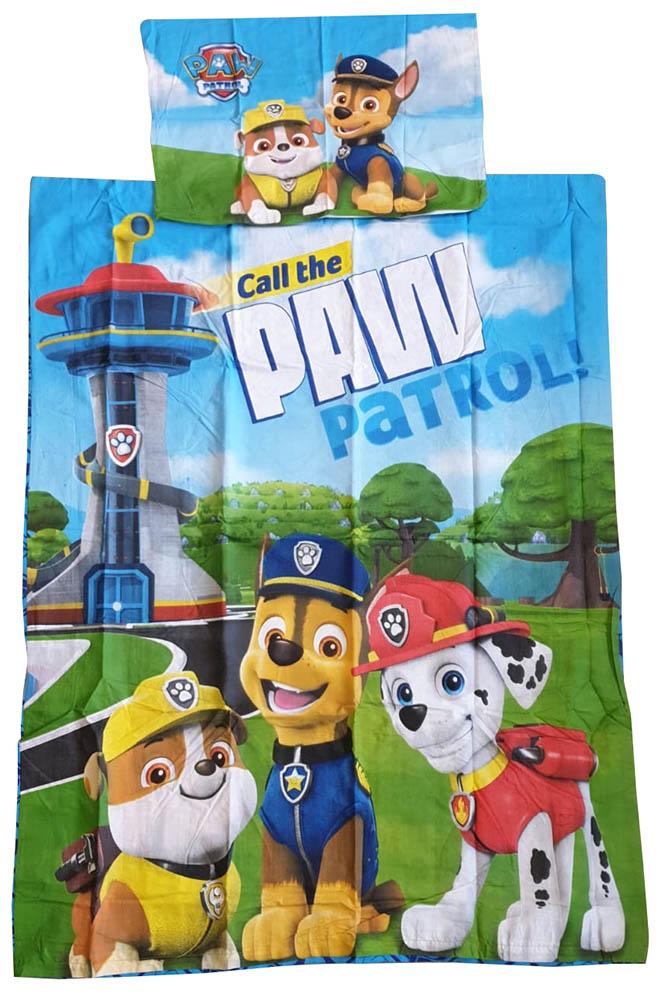 Babybettwäsche Kinderbettwäsche Paw Patrol 100 x 135 cm 100% Baumwolle