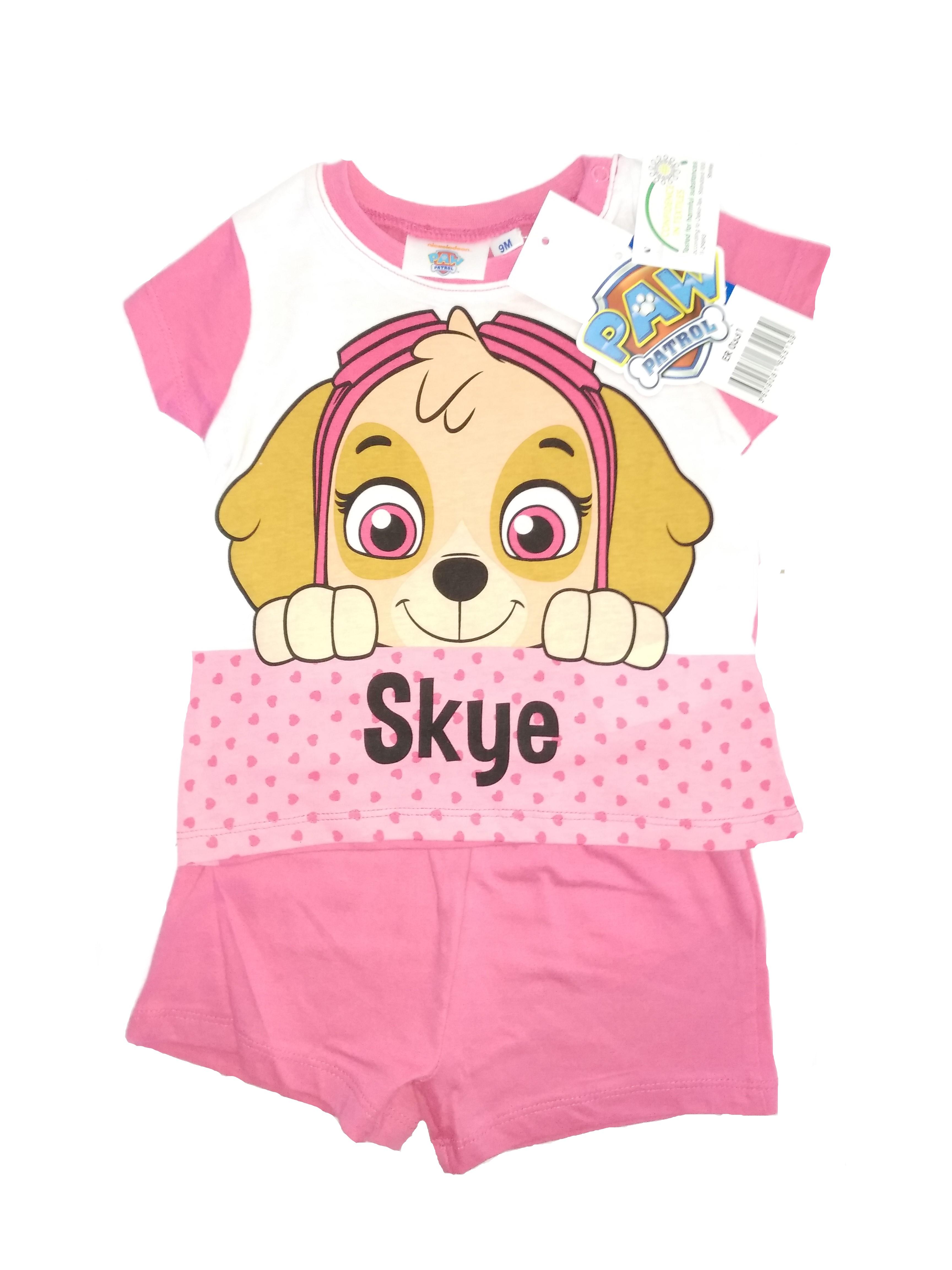 Paw Patrol Pyjama Skye für Kinder Pink (Auswahl)