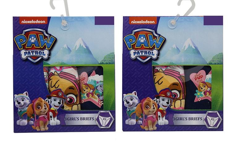 Paw Patrol Mädchen Slips 6er Pack für 6/8 Jahre (Gr. 122)