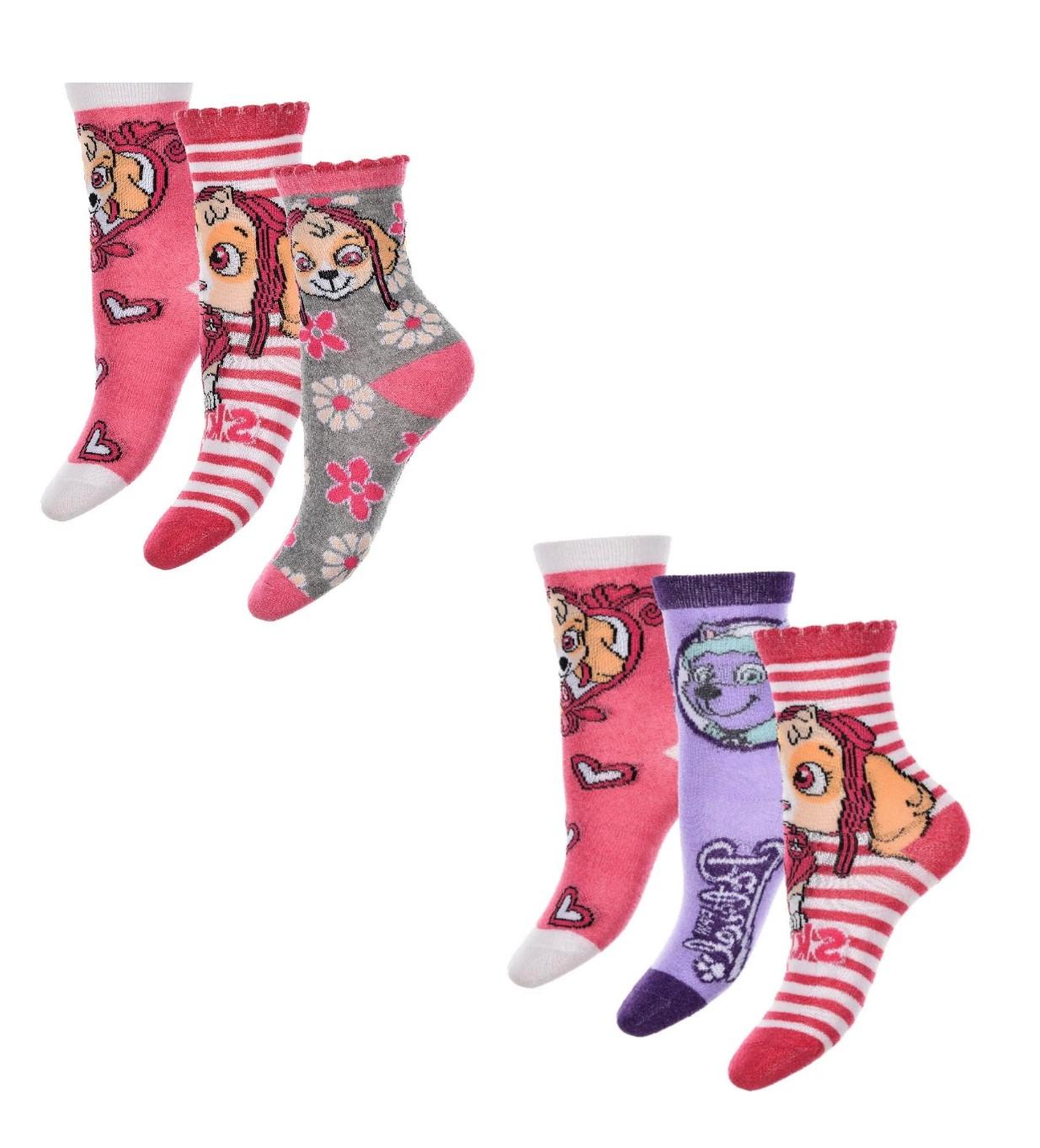 Paw Patrol Socken für Mädchen
