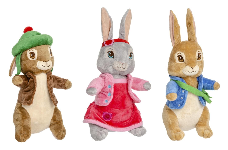 Peter Hase und Freunde Plüschfiguren für Kinder Kuscheltier (Auswahl)