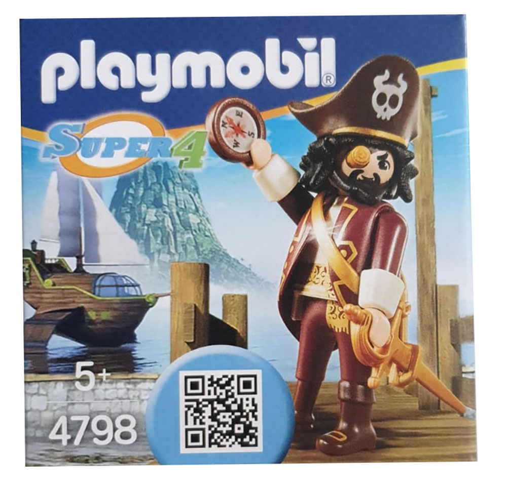 Playmobil 4798 - Sharkbeard Pirat, Spielfigur, Sammelfigur