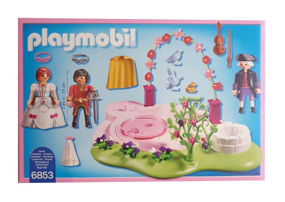 Playmobil 6853 - Prunkvoller Maskenball mit 3 Figuren und vielen Accessoires