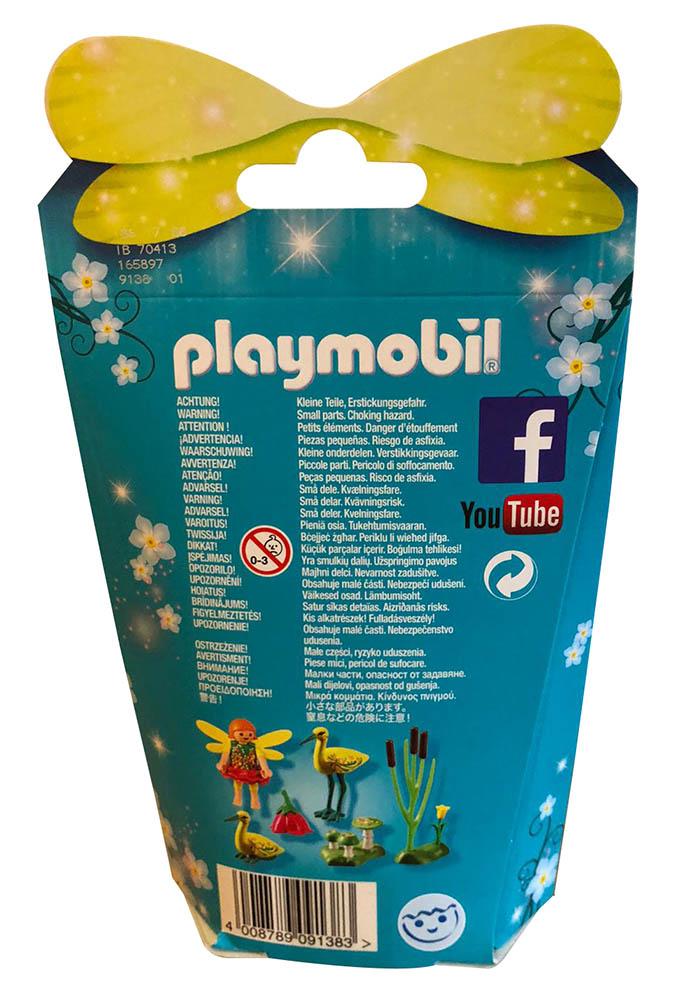 Playmobil 9138 - Feenfreunde Störche im Märchenwald mit Feenfigur