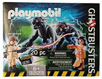 Playmobil 9223 - Ghostbusters Venkman und Terror Dogs, Actionfiguren