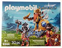 Playmobil 9344 - Knights - Zwergenkönig mit Rittern und Zubehör, Spielfiguren