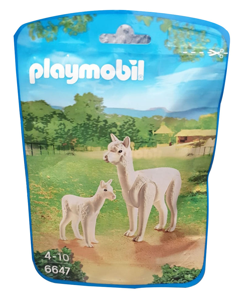 Playmobil Alpaka mit Baby 6647