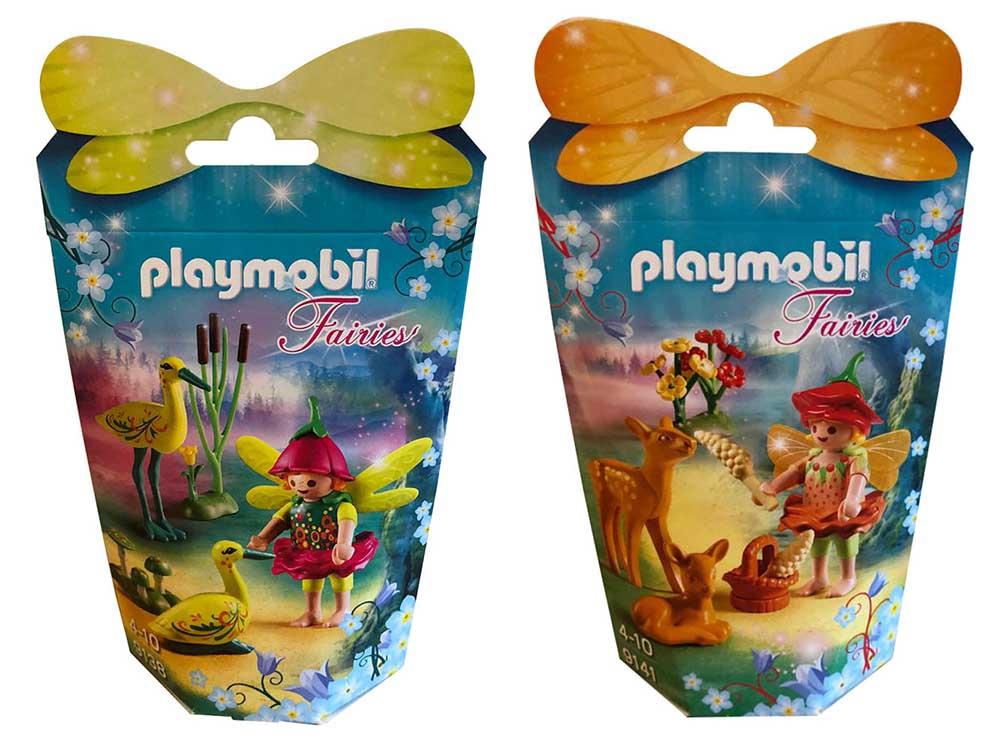 Playmobil Feenfreunde Feenfigur mit versch. Tieren und vielen Accessoires