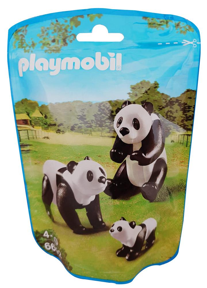 Playmobil Panda-Eltern mit Baby 6652