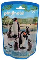 Playmobil Pinguin-Eltern mit Babys Spielfiguren-Set 6649