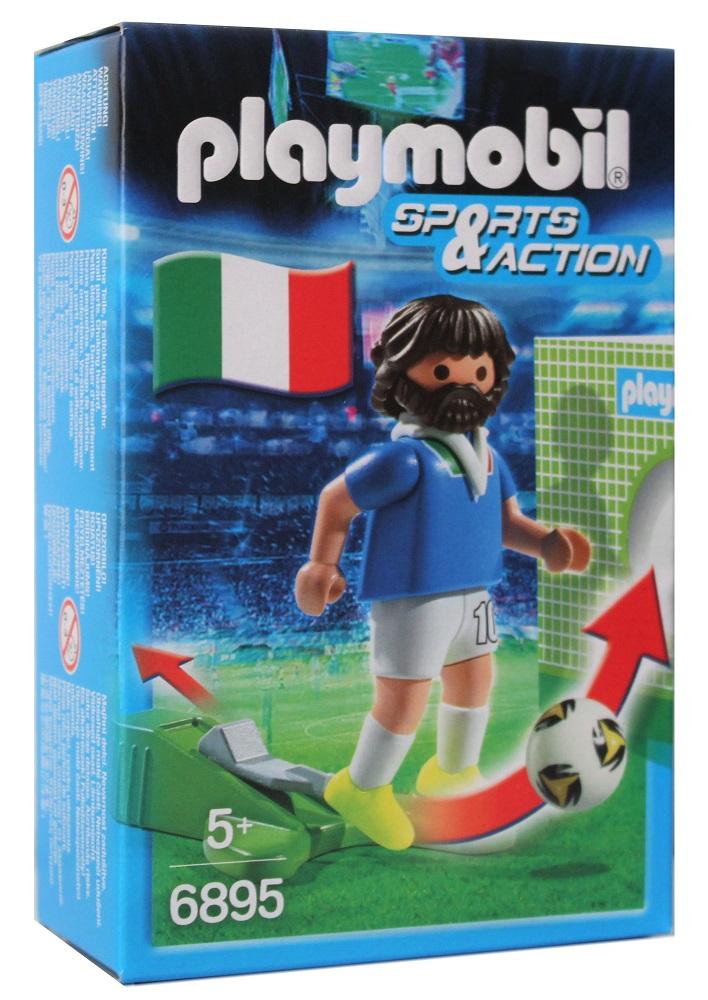 Playmobil Sports & Action Fußballspieler Figur Italien 6895