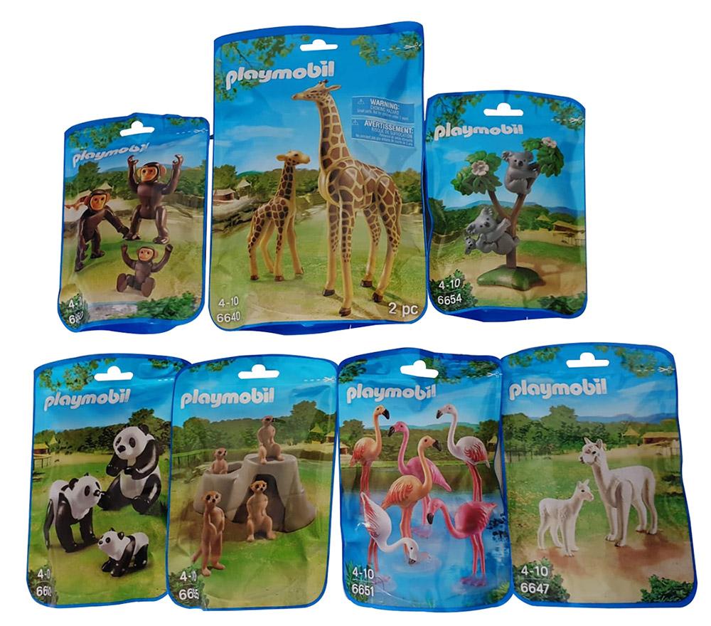Playmobil Spielfiguren verschiedene Zoo-Tiere für Kinder (Auswahl)