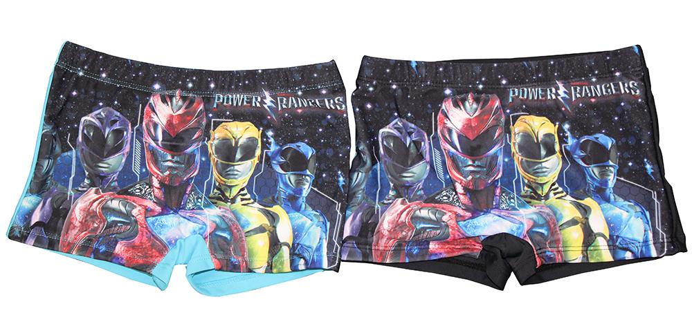 Power Rangers Badehose 2er Set Blau und Schwarz versch. Größen (Auswahl)