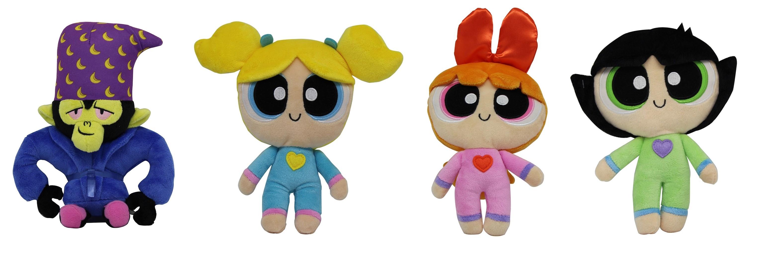 Powerpuff Girls verschiedene Plüschfiguren für Kinder (Auswahl)