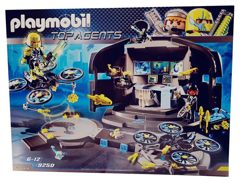 Playmobil Top Agent - Doktor Drones Kommandozentrale 9520