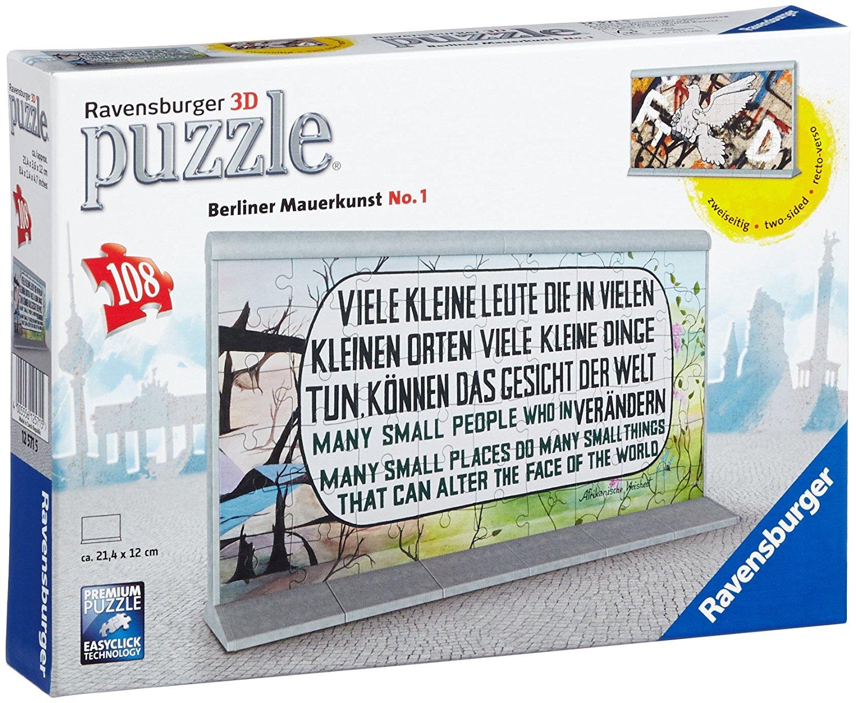 Ravensburger 3D-Puzzle Berliner Mauerkunst
