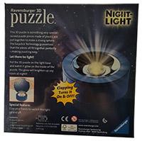 Ravensburger 3D-Puzzle 118373 PJ Masks Nachtlicht mit Puzzle Kugel, 72 Teile