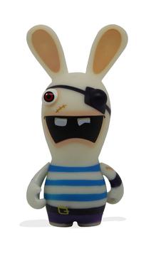 Raving Rabbits Spielfigur Piraten-Hase 9cm