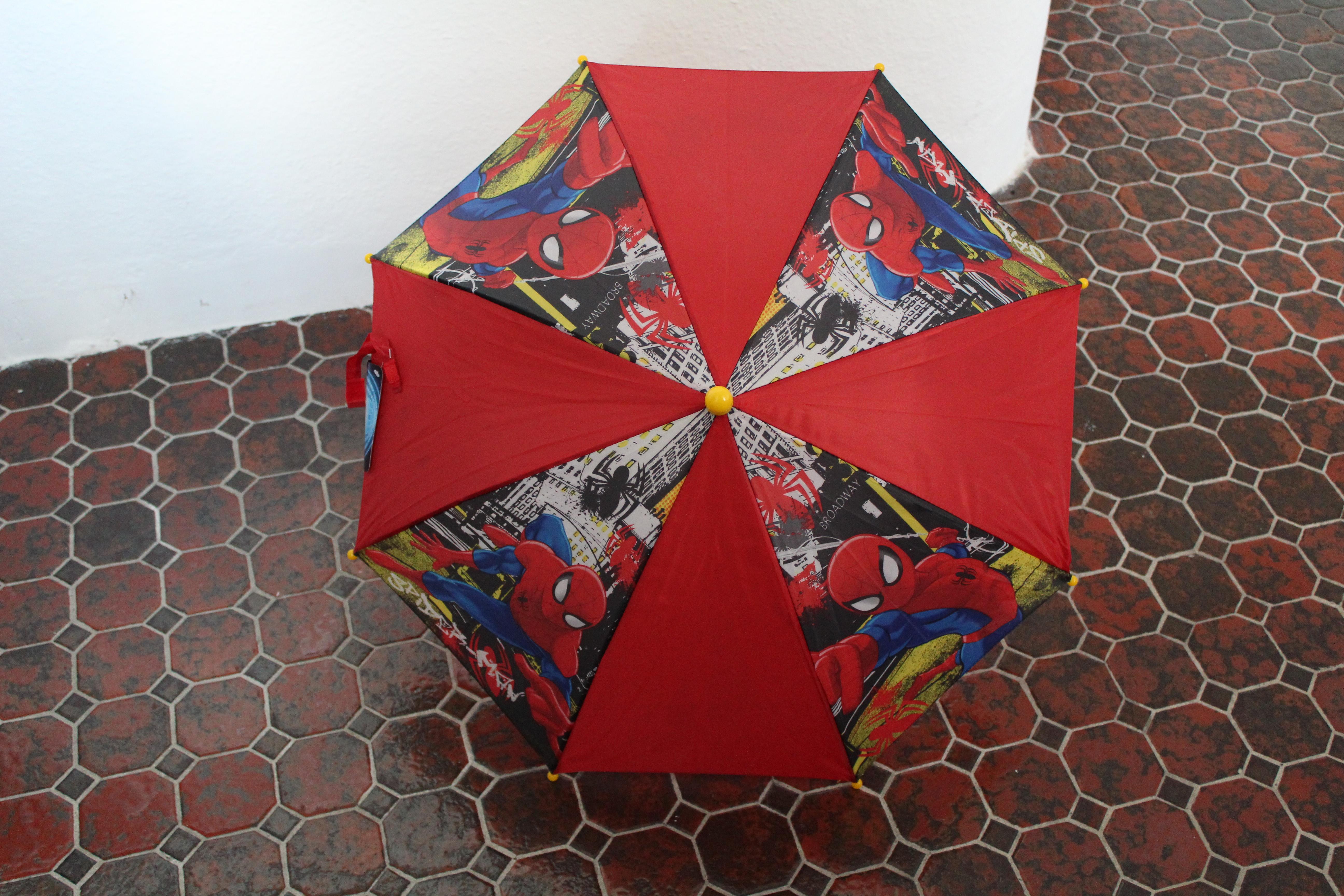 Regenschirm Spider Man für Kinder