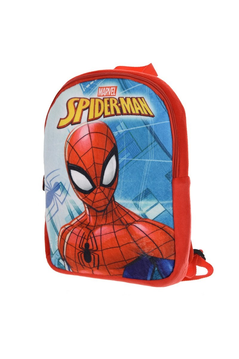 spider man rucksack f r kinder pl sch spiderman kindergarten tasche marvel neu ebay. Black Bedroom Furniture Sets. Home Design Ideas
