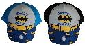 """Batman Kappe, Base Cap, Mütze, """"Daddy's Little Hero"""" schwarz o. blau für Kinder (Auswahl)"""