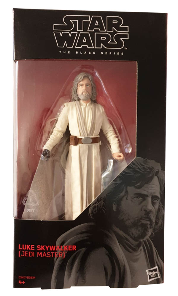 Hasbro Star Wars Rebels The Black Series C1417/B3834 Luke Skywalker Actionfigur 15 cm