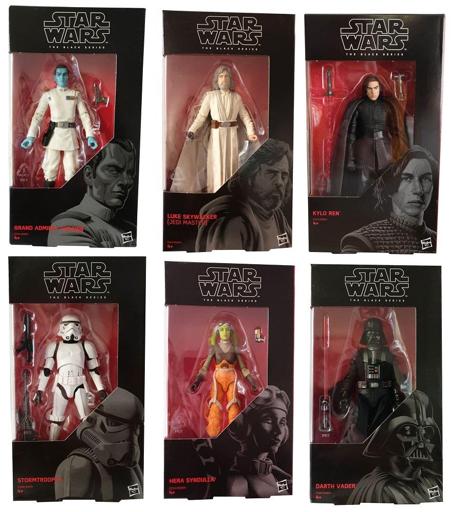 Hasbro Star Wars Rebels The Black Series verschiedene Actionfiguren (Auswahl)
