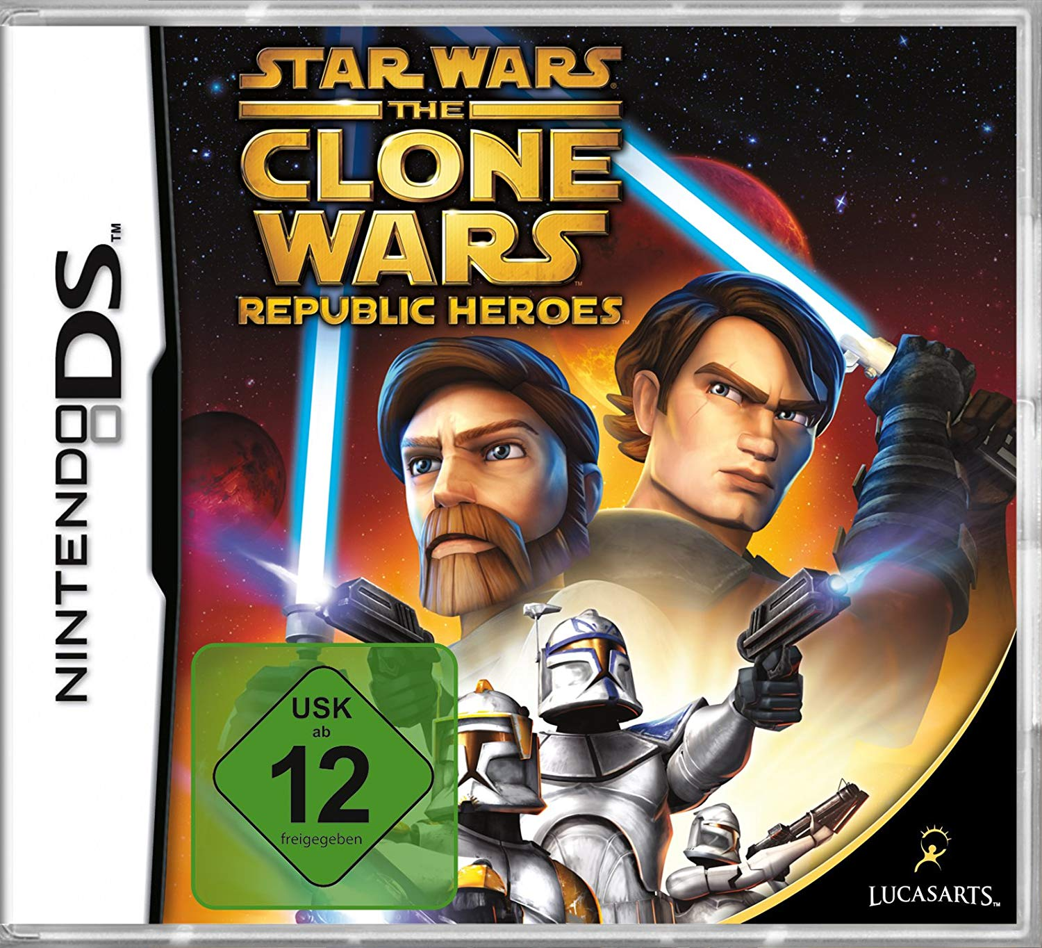 Star Wars - The Clone Wars: Republic Heroes DS