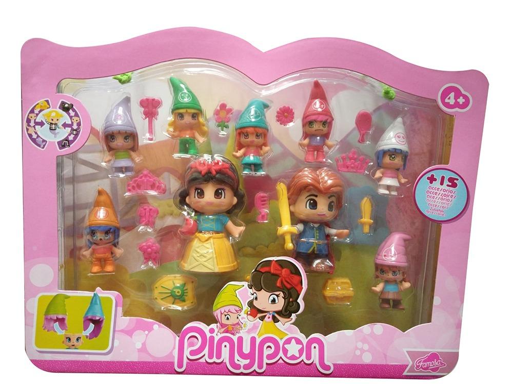 Famosa Pinypon Schneewitchen und die sieben Zwerge 700012750