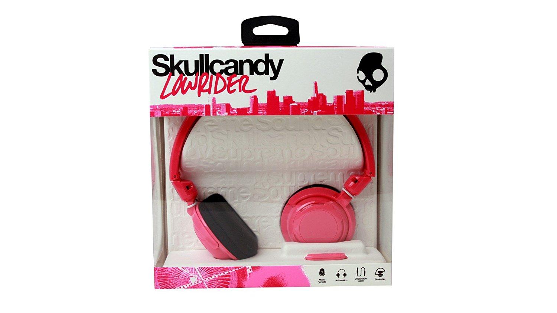Skullcandy Lowrider S5LWFY-274 Surround-Kopfhörer mit Mikrofon pink/schwarz