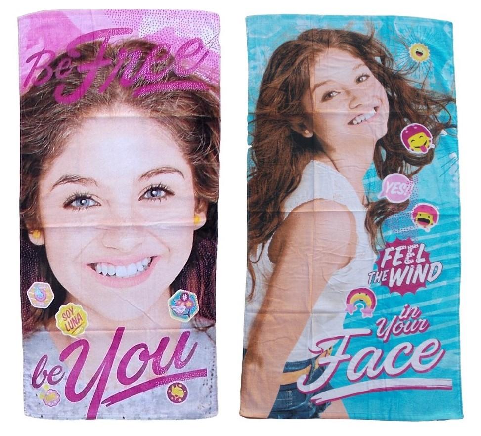 Disney Soy Luna Handtuch für Kinder 70 x 140 cm verschiedene Designs (Auswahl)