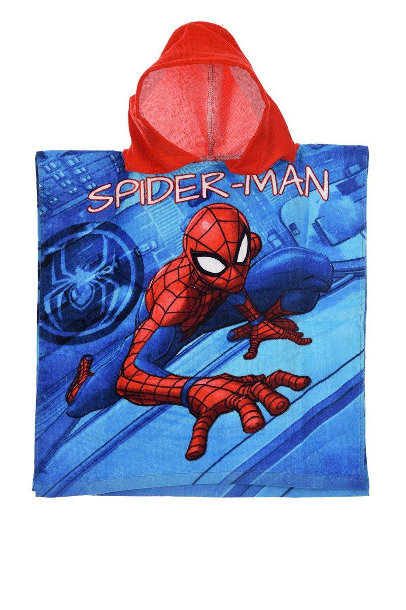 Spider-Man Poncho für Kinder 50 x 100 cm