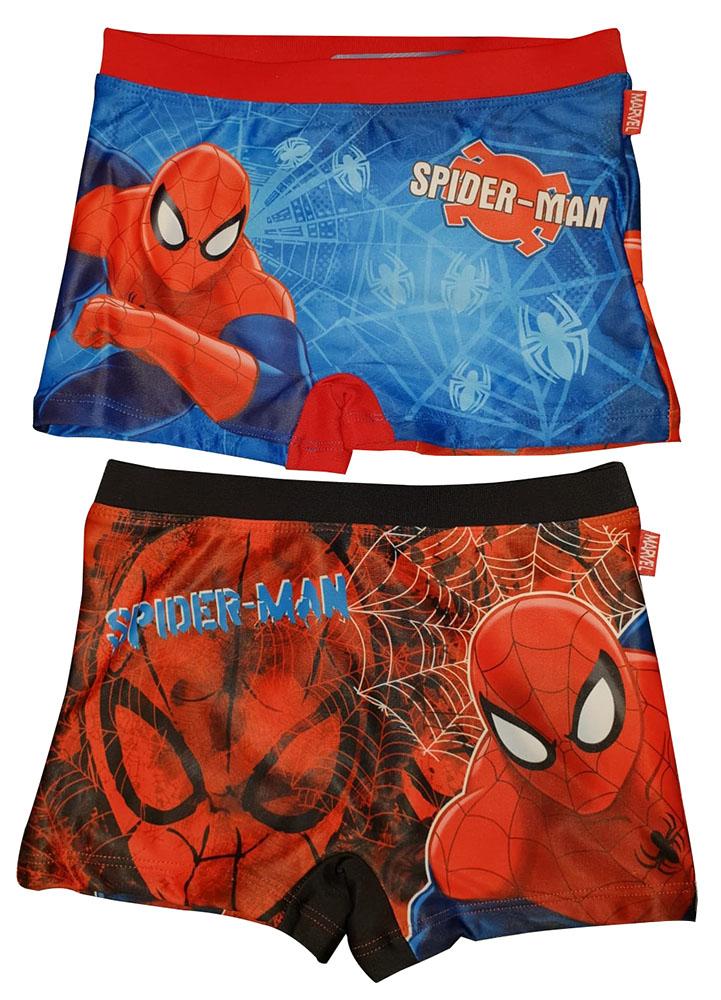 Ultimate Spiderman Badehose 2er Set Rot/Blau verschiedene Größen