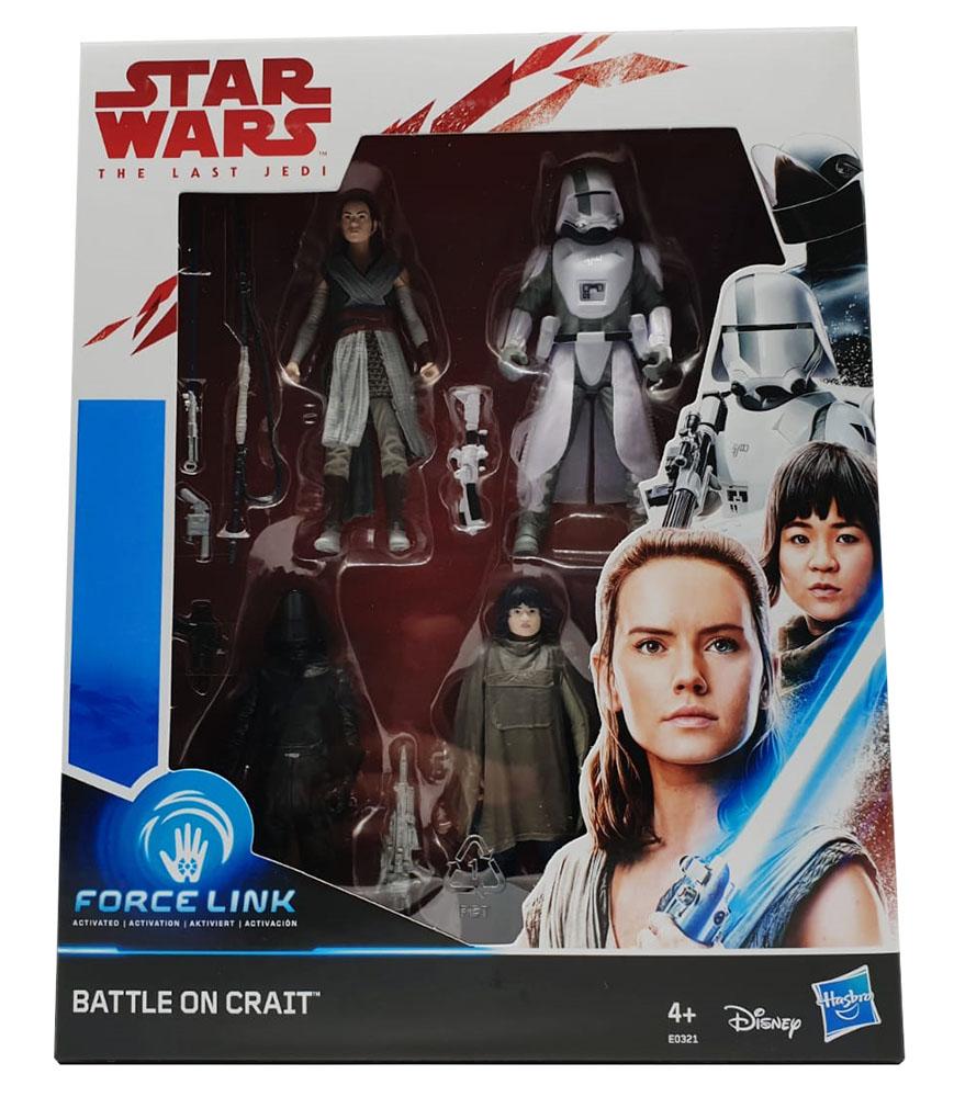 Star Wars Episode 8 - Force Link Actionfiguren 4er Set für Kinder